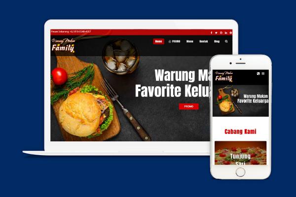 Restaurant Website Bali Digital Expert
